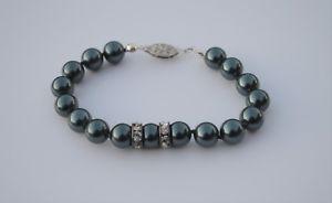 【送料無料】ブレスレット アクセサリ― タヒチブレスレットスターリングシルバーtahitian cultured pearl bracelet 65 sterling silver 925 8mm