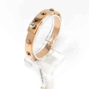 【送料無料】ブレスレット アクセサリ― ミハエルローズゴールドトーンブレスレットジュエリーmichael kors womens rose gold tone studded bracelet jewelry mkj4552791