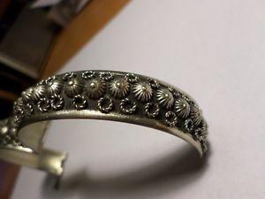 【送料無料】ブレスレット アクセサリ― ビンテージシルバーブレスレットvintage alpacca silver bracelet