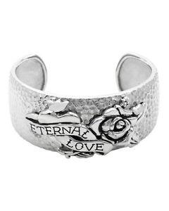 【送料無料】ブレスレット アクセサリ― エドハーディーレディースステンレススチールカフブレスレットed hardy ladies cuff bracelet made in stainless steel