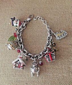 【送料無料】ブレスレット アクセサリ― ブライトンブレスレットbrighton holiday frolic charm bracelet