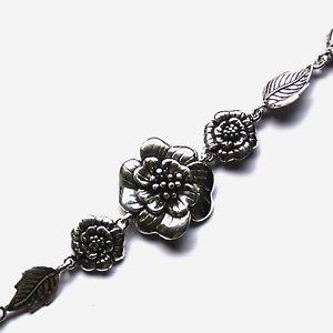 【送料無料】ブレスレット アクセサリ― beautiful flower bracelets sterlingbeautiful flower bracelets sterling silver