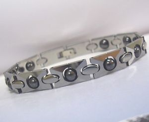 【送料無料】ブレスレット アクセサリ― タングステンブレスレットセラピーバイオtungsten magnetic bracelet therapy bio healing arthritis pain therapy vivo sv