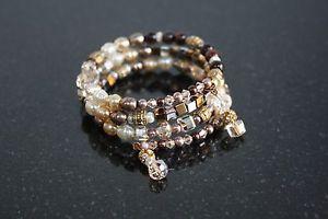 【送料無料】ブレスレット アクセサリ― ワイヤーブレスレットmemory wire bracelet metalica