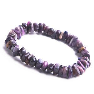【送料無料】ブレスレット アクセサリ― カットビーズヒーリングブレスレット listinggenuine natural purple sugilite gemstone cut beads healing woman bracelet 9mm