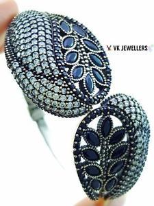 【送料無料】ブレスレット アクセサリ― スターリングシルバートルコハンドメイドジュエリーオニキスカフビクトリアブレスレット925 sterling silver turkish handmade jewelry onyx cuff victorian bracelet b2153