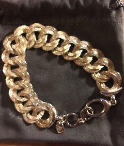 【送料無料】ブレスレット アクセサリ― リンクブレスレットスターリングシルバードルsilpada chicest link bracelet sterling silver b2906 retail 239free cloth