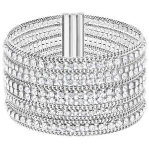 【送料無料】ブレスレット アクセサリ― スワロフスキーシルバーステンレスレディースブレスレットswarovski silver stainless steel womens bracelet 5421826