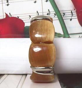 【送料無料】ブレスレット アクセサリ― バッファローホーンベンガルスターリングシルバーブレスレットbuffalo horn bengal bracelet with sterling silver