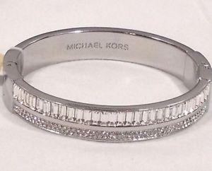【送料無料】ブレスレット アクセサリ― カフブレスレット listingmichael kors silver sierrandan cuff bracelet stunning only one