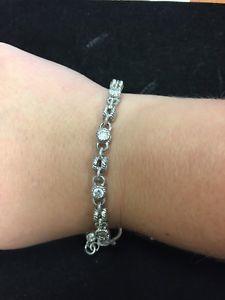 【送料無料】ブレスレット アクセサリ― ジュディスブレスレットスターリングシルバーjudith ripka bracelet sterling silver cz 8