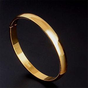 【送料無料】ブレスレット アクセサリ― ブレスレットロンドレas fr38827 1pc couleur bracelet en or ronde lisse pour les femmes alliage de zi