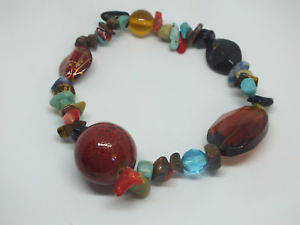 【送料無料】ブレスレット アクセサリ― ビーズワイドブレスレットカラフルストレッチbeautiful stretch bracelet colorful variety of beads 34 wide nice