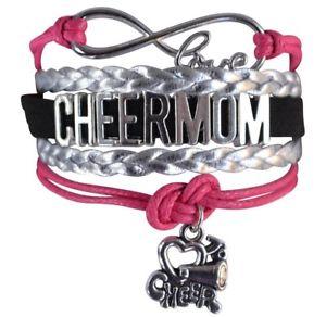 【送料無料】ブレスレット アクセサリ― ピンククリスマスinfinity collection cheer christmas gift for mom pink