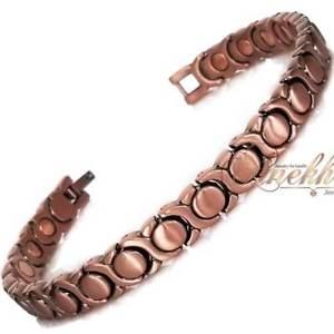 【送料無料】ブレスレット アクセサリ― トップデザインリンクブレスレット8 12 top design copper magnetic link bracelet women arthritis hd147
