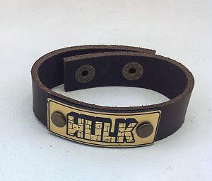 【送料無料】ブレスレット アクセサリ― ハルクブレスレットラップハンドメイド hulk leather bracelet jewelry, wrist wrap, genuine leather, hand made