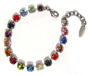 【送料無料】イタリアン ブレスレット カフマルチカラーsoho bracciale armkettchen multicolor lucidata cristalli kunterbunt colore