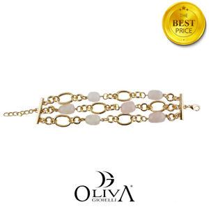 【送料無料】イタリアン ブレスレット カフファッションスチールbracciale donna alessia fashion acciaio