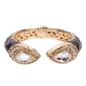 【送料無料】イタリアン ブレスレット ロンドンブラックブレスレットブレスレットブランドファッションmikey london nero amp; oro cristallo bracciale, braccialetto donna, brand fashion