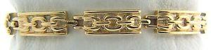 【送料無料】イタリアン ブレスレット グラムソリッドシルバーカフ208 grammi placcato oro giallo argento massiccio misura 184cm bracciale j89