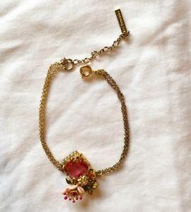 【送料無料】イタリアン ブレスレット レブレスレットピンクles nereides braccialetto rosa floreale