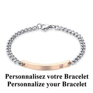 【送料無料】イタリアン ブレスレット ブレスレットローズbracelet rose prnom femme pochette cadeau lamp;d