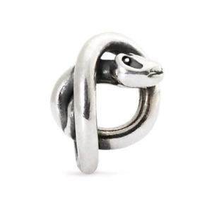 【送料無料】イタリアン ブレスレット シルバースネークオリジナルビーズtrollbeads original beads in argento serpente tagbe10101