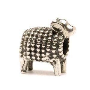 【送料無料】イタリアン ブレスレット シルバーラムオリジナルビーズtrollbeads original beads in argento agnellino tagbe10059