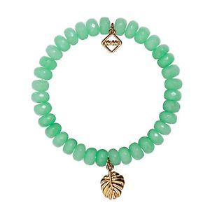 【送料無料】イタリアン ブレスレット ミームロンドンビバリーヒルズミントブレスレットmeme london, beverley hills, mint agate bracelet