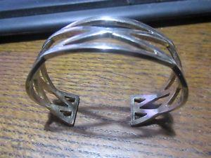 【送料無料】イタリアン ブレスレット カフブレスレットデザインシルバーpretty 15cm ovale bracciale braccialettocriscross design, 925 argento