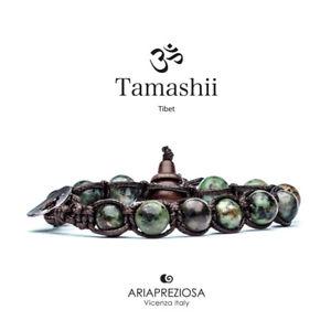【送料無料】イタリアン ブレスレット カフチベットアフリカターコイズtamashii bracciale tibet etno monaci buddhisti turchese africano bhs90075