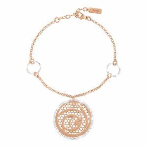 【送料無料】イタリアン ブレスレット ブロンズブレスレットbracciale stroili in bronzo rosato muse mod 1651150