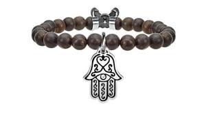 【送料無料】イタリアン ブレスレット ブレスレットファティマスチールkidult bracciali acciaio spirituality mano di fatima protezione 731118