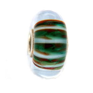 【送料無料】イタリアン ブレスレット オリジナルガラスビーズtrollbeads original beads vetro unico tr10081
