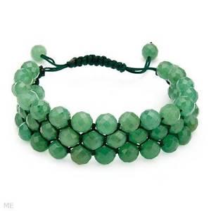【送料無料】イタリアン ブレスレット ブレスレット16500 ctw verde avventurina braccialetto dellamicizia