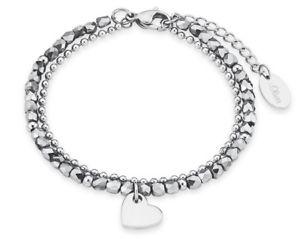 【送料無料】イタリアン ブレスレット オリバーブレスレットステンレスs oliver 2018344 da donna cuore bracciale in acciaio inox nuovo