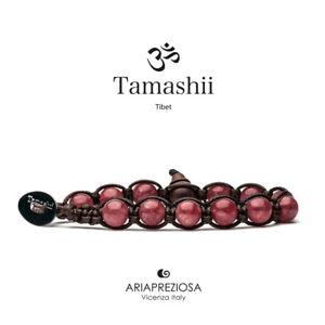 【送料無料】イタリアン ブレスレット カフチベットウォーターメロンtamashii bracciale tibet anima monaci buddhisti giada water melon bhs900198