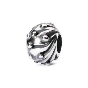 【送料無料】イタリアン ブレスレット オリジナルビーズシルバーtrollbeads original beads argento palla di neve tagbe20065