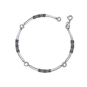 【送料無料】イタリアン ブレスレット ブレスレットモチーフアルジェントヌフbracelet motifs tribal en argent 925 neuf