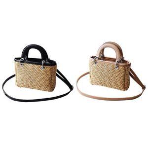 【送料無料】イタリアン ブレスレット ストローショルダーバッグファッショントレンド3xtendenze di moda per donna straw ms shoulder bag m9k2