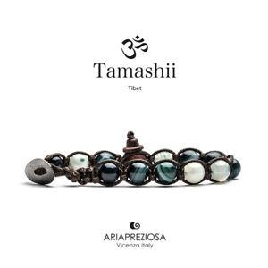 【送料無料】イタリアン ブレスレット グリーンペルシャチベットストライプtamashii agata verde persia striata bracciale tibetano bhs900161 38