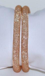 【送料無料】イタリアン ブレスレット オリジナルスワロフスキーカフベージュスターダストswarovski originale doppio avvolgimento bracciale stardust beige tg s 38cm nuovo