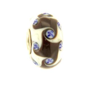 【送料無料】イタリアン ブレスレット オリジナルガラスビーズtrollbeads original beads vetro unico tr12577