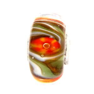 【送料無料】イタリアン ブレスレット オリジナルガラスビーズtrollbeads original beads vetro unico tr10674