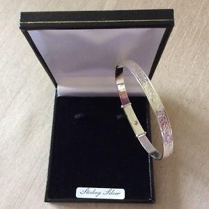 【送料無料】イタリアン ブレスレット ソリッドブレスレットファインシルバースクロール6 mm solido argento finissimo donna scroll in espansione braccialetto