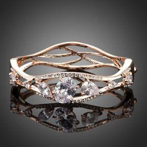 【送料無料】イタリアン ブレスレット ブレスレットedizione limitata oro placcato zirconi braccialetto per le donne signore ragazze mbr0047