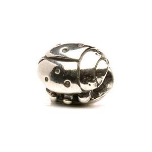 【送料無料】イタリアン ブレスレット シルバーオリジナルビーズtrollbeads original beads in argento coccinella tagbe20080