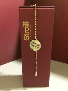 【送料無料】イタリアン ブレスレット ブロンズブレスレットbracciale stroili in bronzo bicolore mah mod 1623729