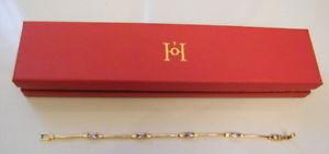 【送料無料】イタリアン ブレスレット ブレスレットバイオレットhistoire dorbijou bracelet plaqu or poincon serties strass violetcrin,n520