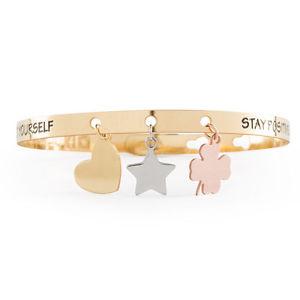 【送料無料】イタリアン ブレスレット ファッションブレスレットmoda bracciale we positive friends charms donna fr012